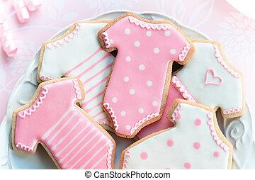babyshower, biscuits