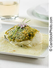 Bacalao casero - Bacalao fillet Basque style, made with ...