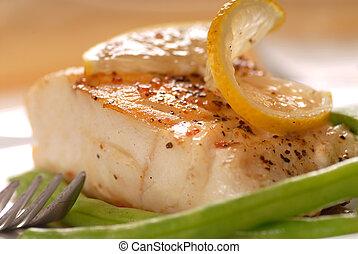 bacalhau, filé
