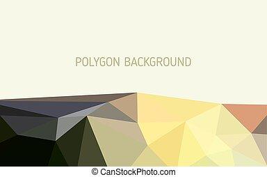 bacground., polygon, abstrakt