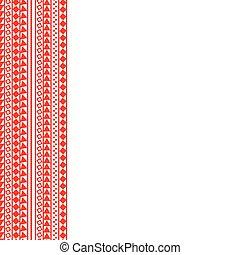 bacground, rood, gedaantes, verticaal, grens, witte , seamless, afdrukken, abstract, vector