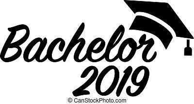 Bachelor 2019 mortarboard