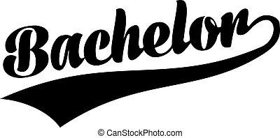 Bachelor retro font
