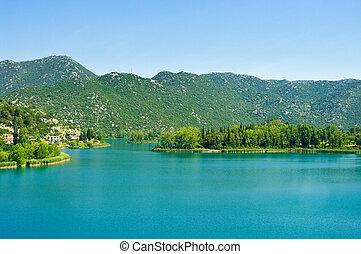 Bacinska lake in Croatia