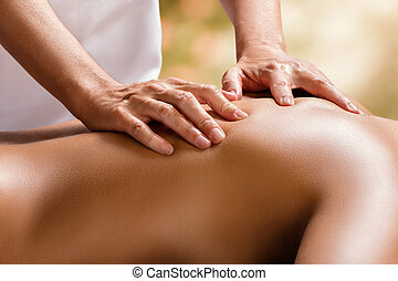 back., терапевт, подробно, женский пол, руки