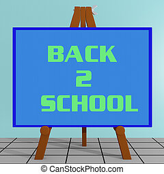 Back 2 School concept