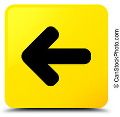 Back arrow icon yellow square button