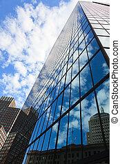 Back Bay John Hancock building in Boston, Massachusetts