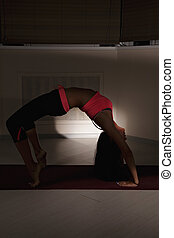 Back bend yoga