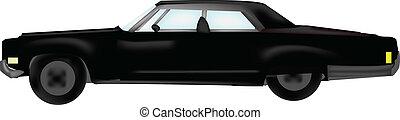 Back Car Vector