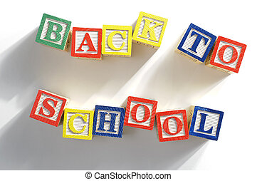 back, concept, school
