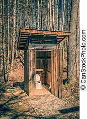 Back Country Outhouse #1.