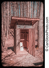 Back Country Outhouse #2.
