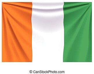 back flag cote d ivoire