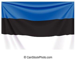 back flag estonia