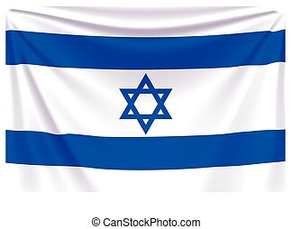 back flag israel
