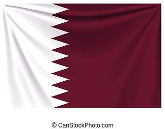 back flag qatar