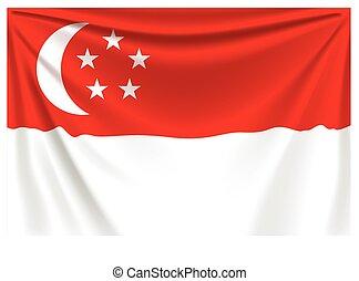 back flag singapore