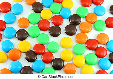 Back ground of colorful candy