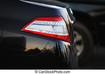 Back light of car