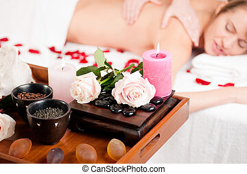 Back massage in Spa