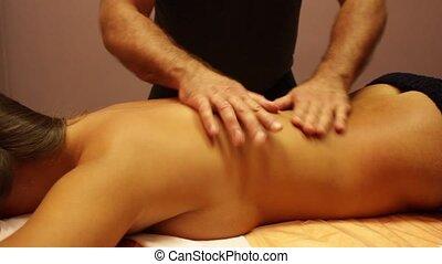 Back Massage Woman