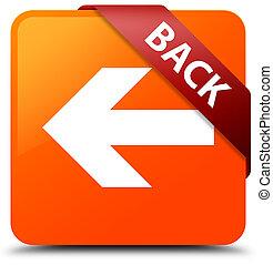 Back orange square button red ribbon in corner
