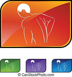 Back Pain Icon