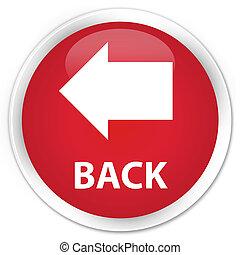 Back premium red round button