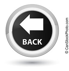 Back prime black round button