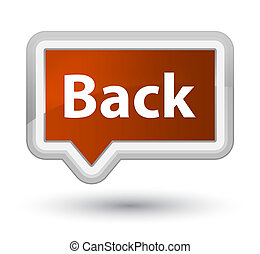 Back prime brown banner button