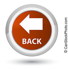 Back prime brown round button