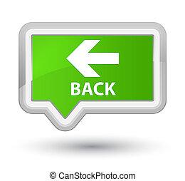 Back prime soft green banner button