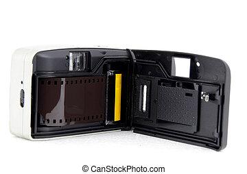 Retro film camera - Back side of Retro film camera