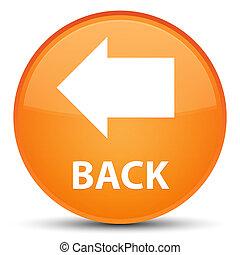 Back special orange round button