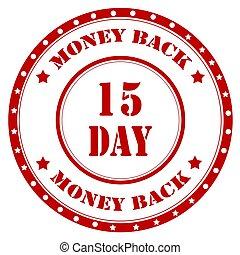 back-stamp, geld