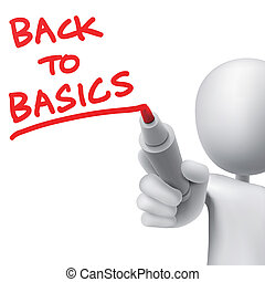 back to basics written by a man