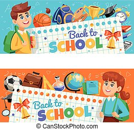 Back To School 2 banners