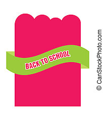 back to school advertising flyer