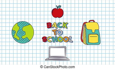 Back to School Animation