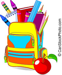 Back to School - Back to school image concept content school...