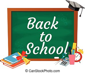 Back to school background,