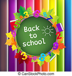 Back To School Background - Back To School Color Background,...