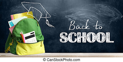 Back to school backpack. - Back to school shopping...
