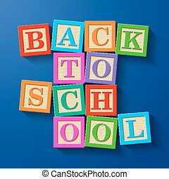 Back to School blocks