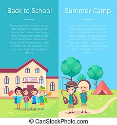 Back to School Collection of Posters with Kids - Back to...