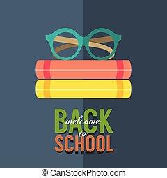 Back to School Concept. - Back to School Concept Vector ...