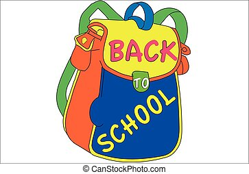 Back to School. Concept of education.