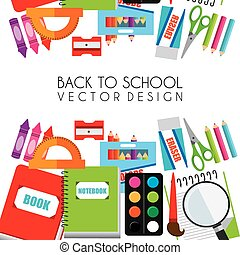 back to school design - back to school design, vector...