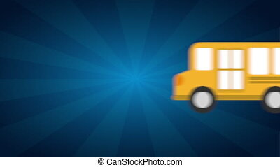 back to school design, Video Animation HD1080
